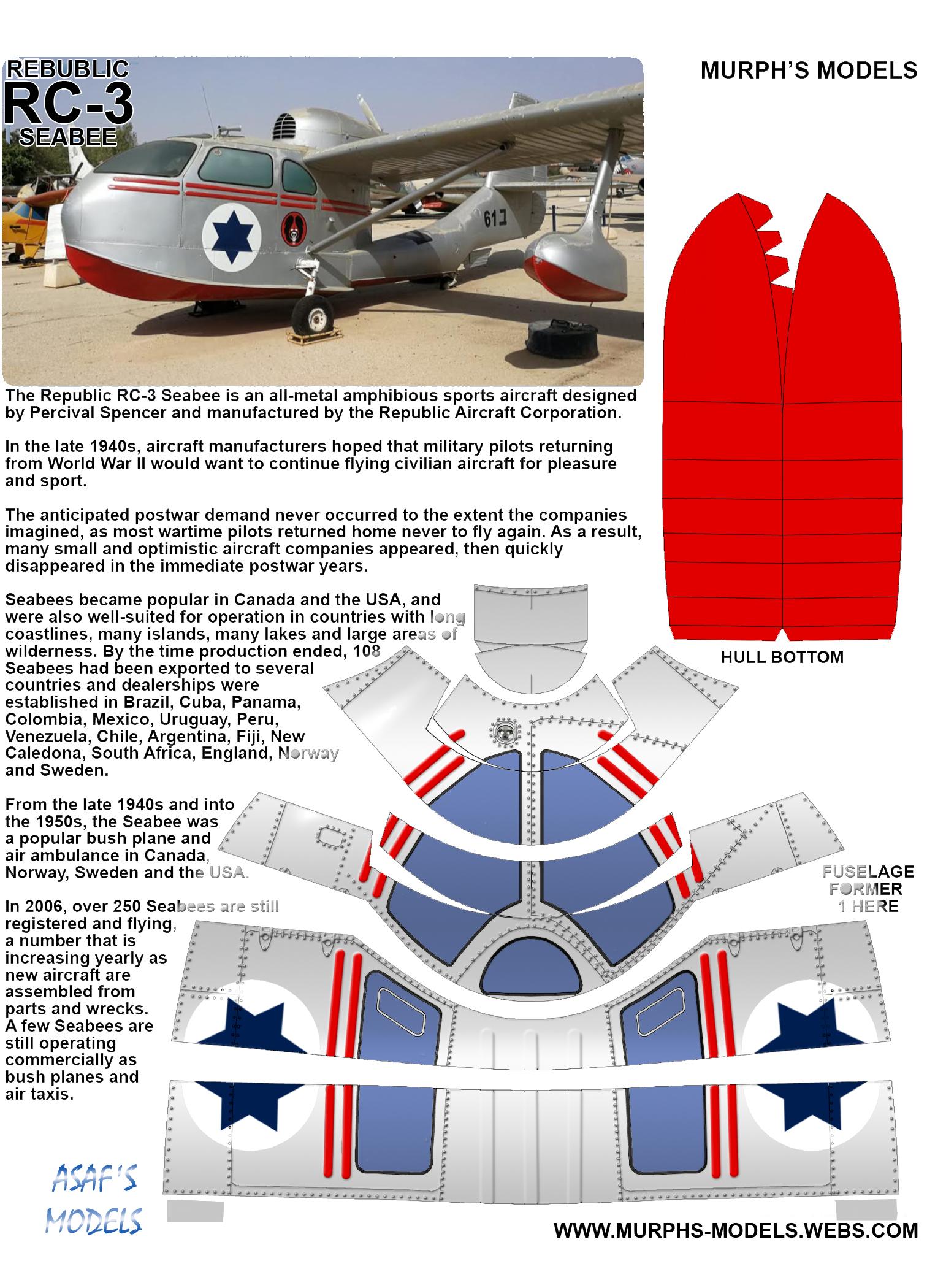 Murph's Models - Republic RC-3 SeaBee