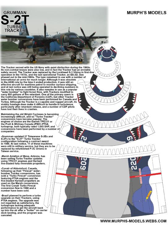 Murph's Models - Grumman S-2T Tracker